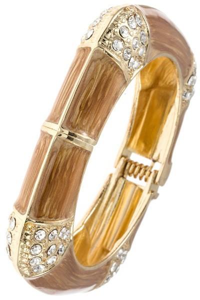 Camel Square Bangle Bracelet