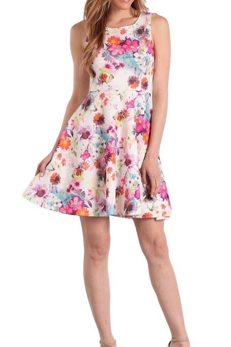 Italian Floral Dress