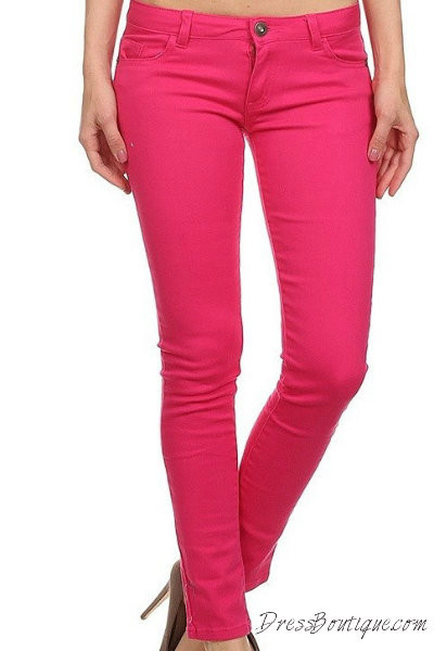 Hot Pink Skinny Jeans Shop Women S Jeans