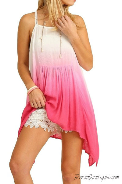 Pink Ombre Tunic