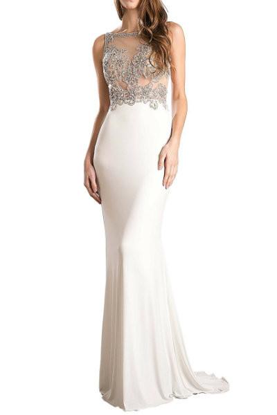 Ivory Mermaid Gown
