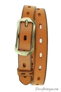 Camel Laser Cut Out Accent Belt
