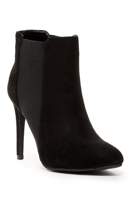 Black Suede Ankle Boots