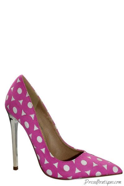 Cute Pink Dress Heels