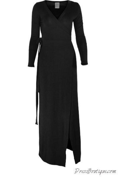 Black Long Sleeve Maxi Dress Shop Women S Dresses