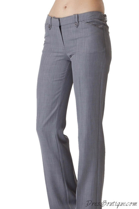 Women S Light Grey Slacks Shop Women S Pants