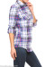 Light Blue Plaid Flannel Shirt