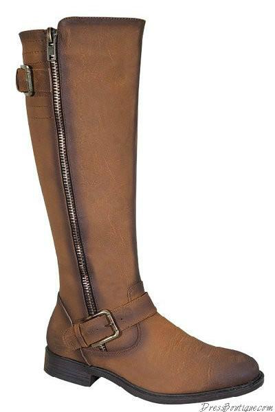 Camel Women's Riding Boots