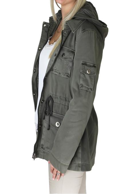 Olive Combo Jacket