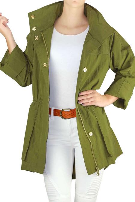 Light Green Raincoat