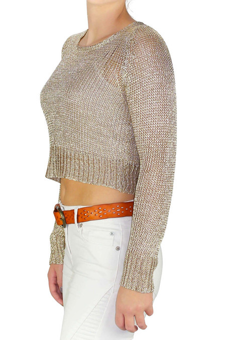 Gold Knit Sweater