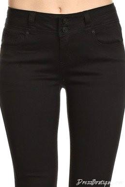 Black Stretch Pants