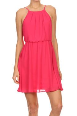 Pink Summer Dress