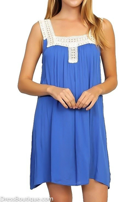 Blue Lace Tunic