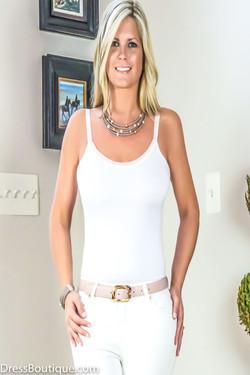 White Italian Camisole