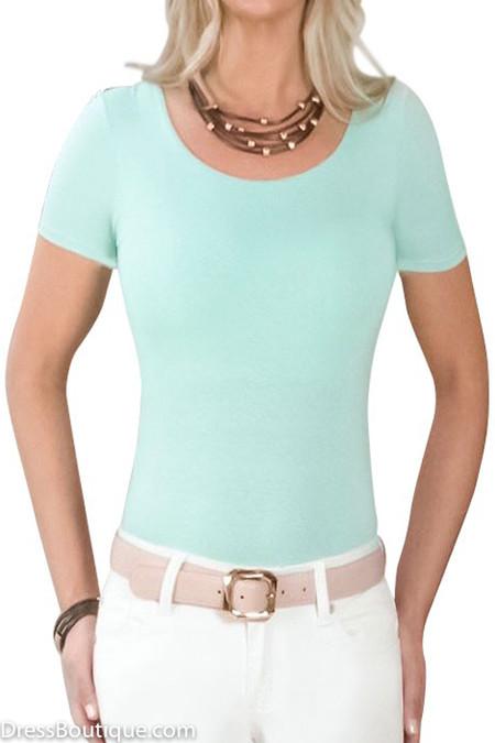 Mint Tailored T-Shirt