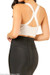 Lux White Bandage Crop Top