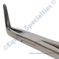 Equine dentistry Fragment Forceps