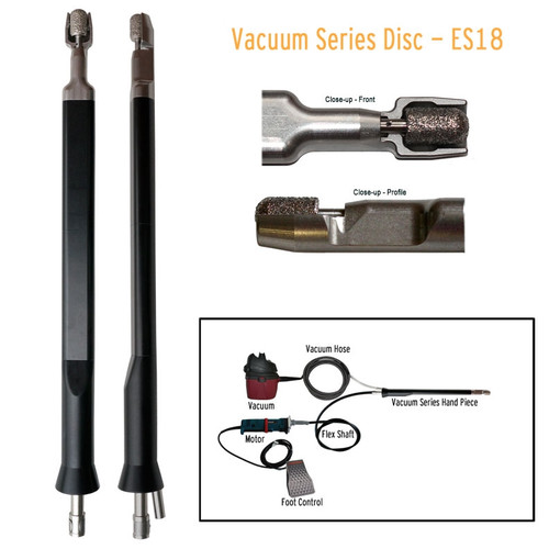 Horse Dental Vacuum Series ES Power Float