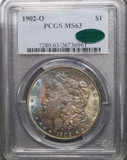 1902 O Morgan Silver Dollar $1 MS63 PCGS/CAC