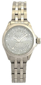 Social Security Administration Watch Silver Dial
