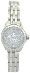 Ladies' All Stainless Steel State and Local Government Watch