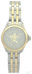 Ladies' Stainless/Gold State and Local Government Watch
