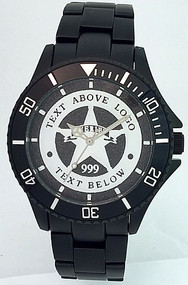 Black Aluminum Law Enforcement Watch