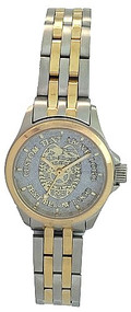 Ladies' Stainless/Gold Law Enforcement Watch