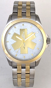 EMS Star of Life Watch Silver Dial