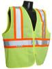 Radians SV225-2 Class 2 Two Tone Fire Retardant Hi-Viz Green Mesh Safety Vest