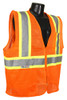 Radians SV225-2 Class 2 Two Tone Fire Retardant Hi-Viz Orange Mesh Safety Vest