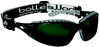Bolle Tracker Safety Glasses with Black Frame and IR Shade 5 Anti-Scratch Lenses