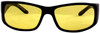 Smith & Wesson Elite Safety Glasses with Black Frame and Amber Anti-Fog Lens Front View