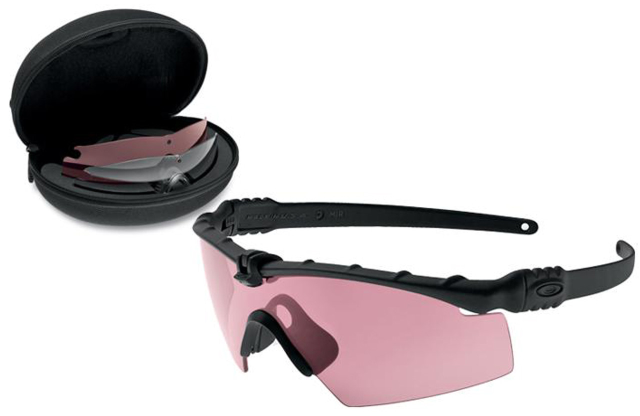 Oakley SI Ballistic M Frame 3.0 Array with Black Frame and Clear, TR22 and  TR45