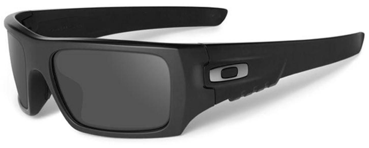 Oakley SI Ballistic Det Cord with Matte Black Frame and Grey Lenses