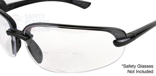 e943c1b6d85 Optx 20 20 Stick On Bifocal Lenses - Safety Glasses USA