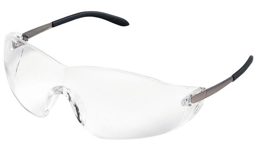 Crews Blackjack Safety Glasses with Clear Lens