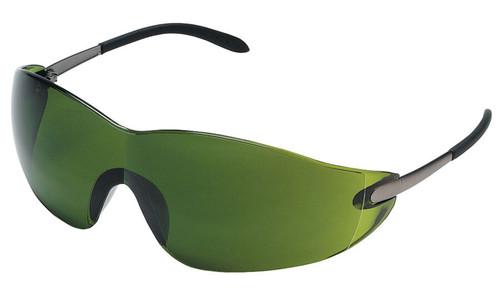 Crews Blackjack Safety Glasses with Shade 3 Lens