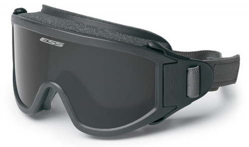 ESS Flight Deck Military Goggles with Clear and Smoke Gray Lens