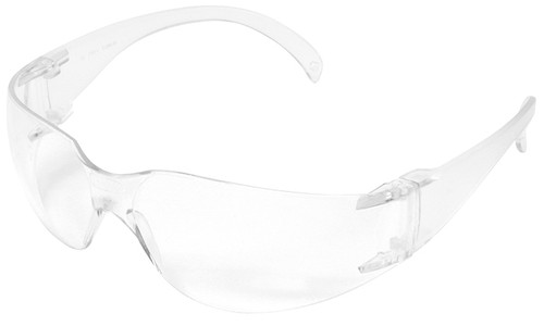 Radians Mirage USA Dielectric Safety Glasses with Clear Anti-Fog Lens