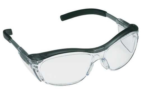 3M Nuvo Safety Glasses with Clear Anti-Fog Lens