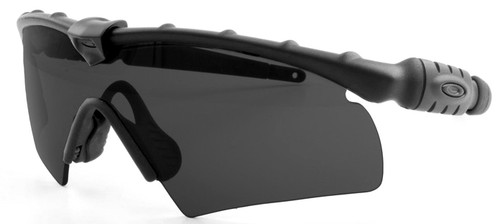 Oakley SI Ballistic M Frame 2.0 Hybrid with Black Frame and Grey Lens