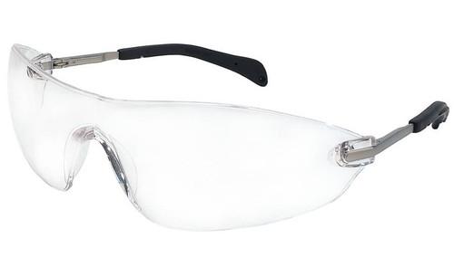 Crews Blackjack Elite Safety Glasses with Clear Anti-Fog Lens