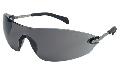 Crews Blackjack Elite Safety Glasses with Gray Lens