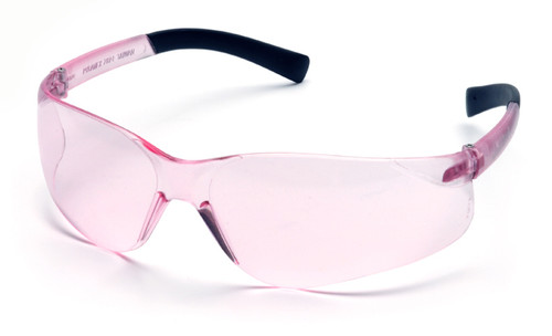 Pyramex Mini Ztek Safety Glasses with Pink Lens
