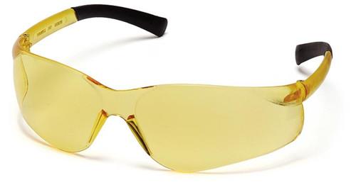 Pyramex Ztek Safety Glasses with Amber Lens