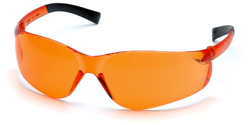 Pyramex Ztek Safety Glasses with Orange Lens