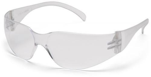 Pyramex Intruder Safety Glasses with Clear Anti-Fog Lens
