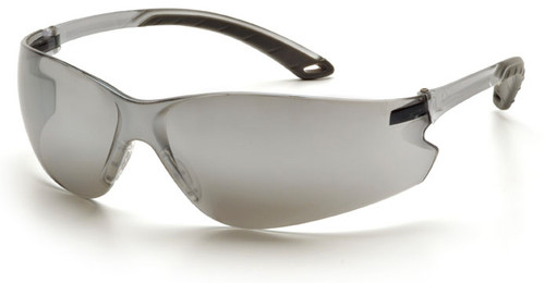 Pyramex Itek Safety Glasses with Silver Mirror Lens